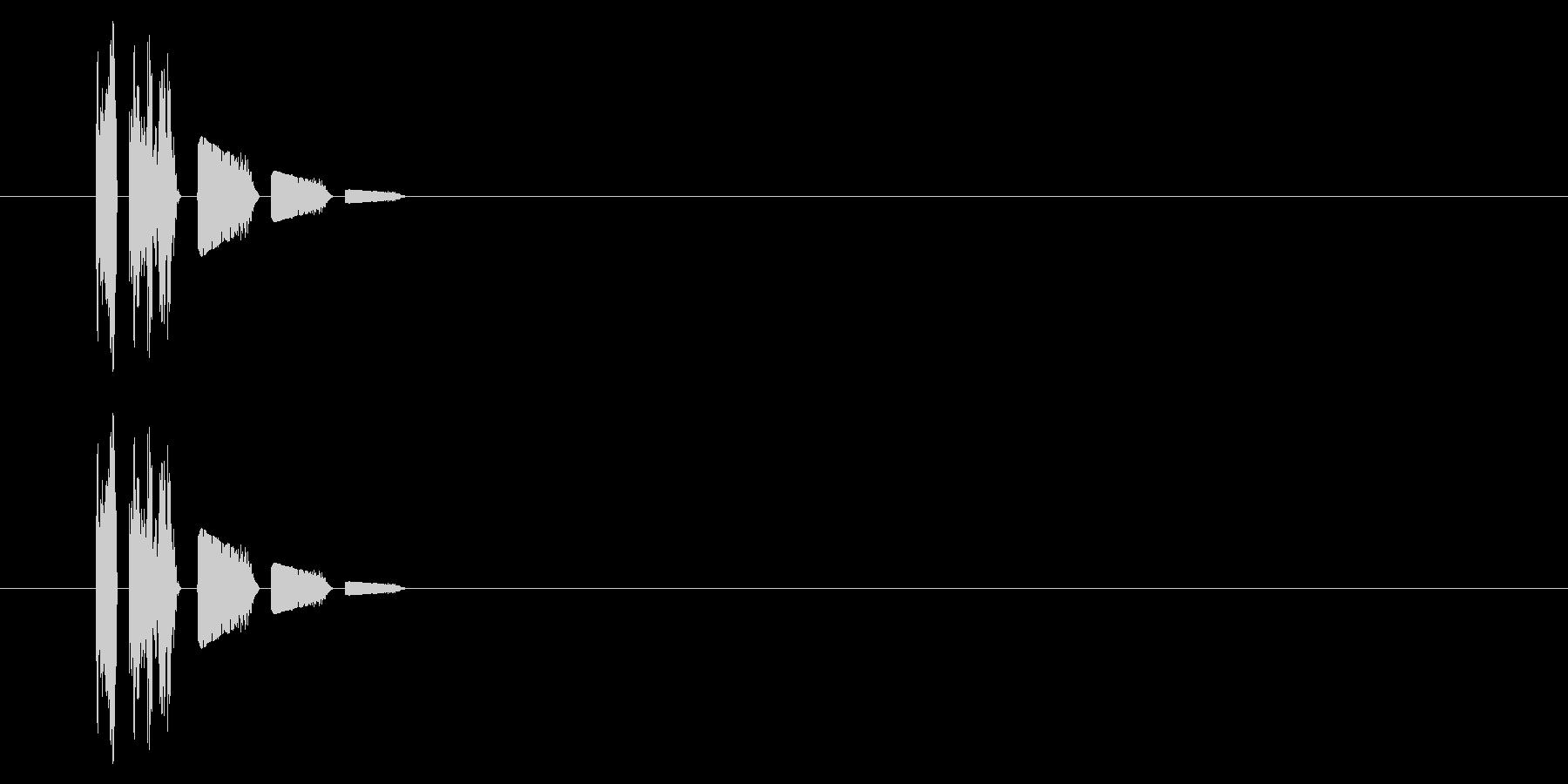 SNES-アクション01-11(ダメージの未再生の波形