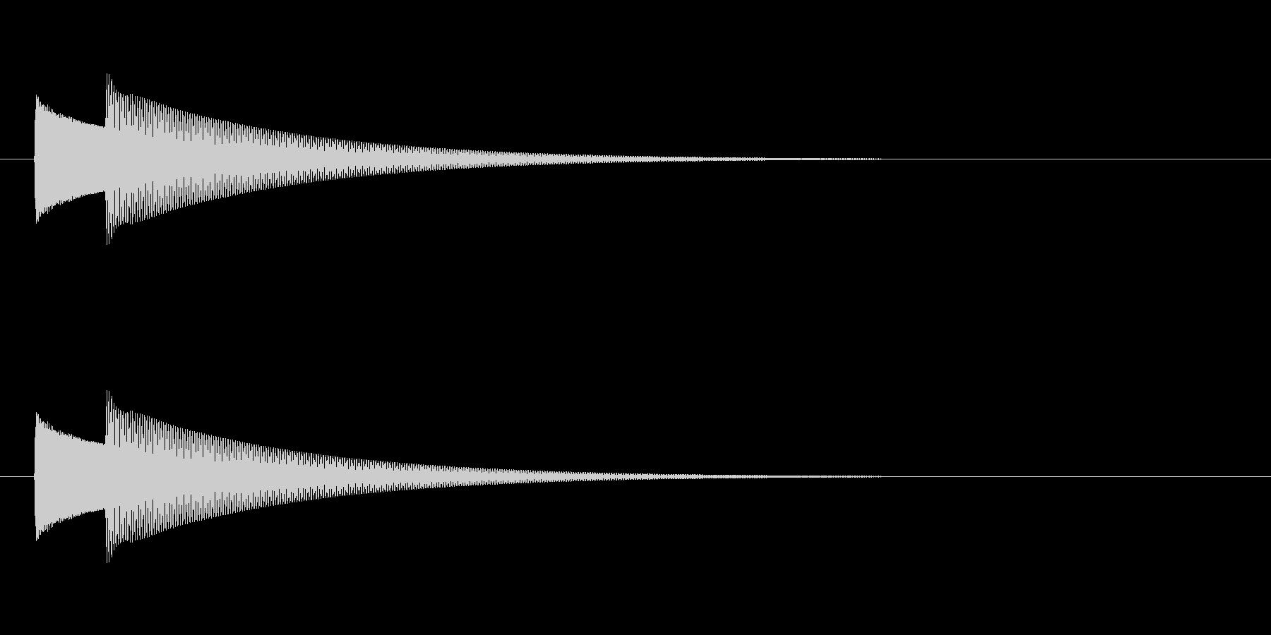 【ドアベル ピンポン02-1】の未再生の波形