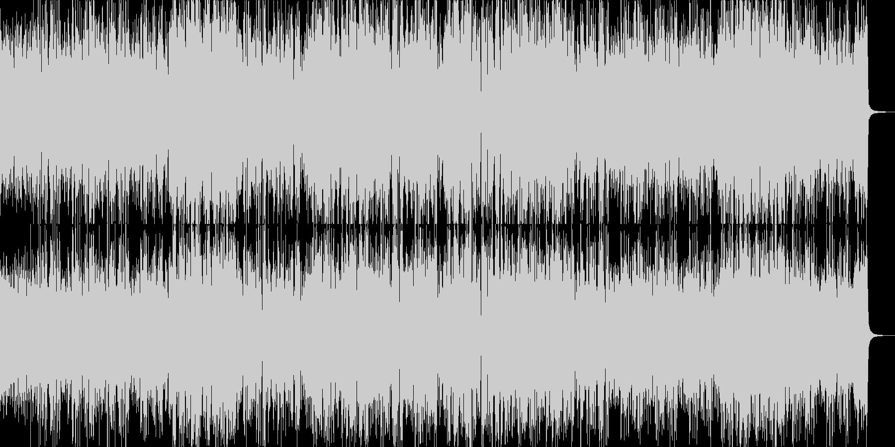 マリンバ・サンバの未再生の波形