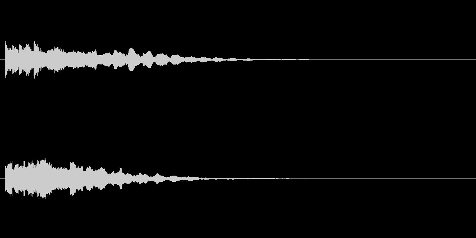 ファミコン的な和風起動音の未再生の波形