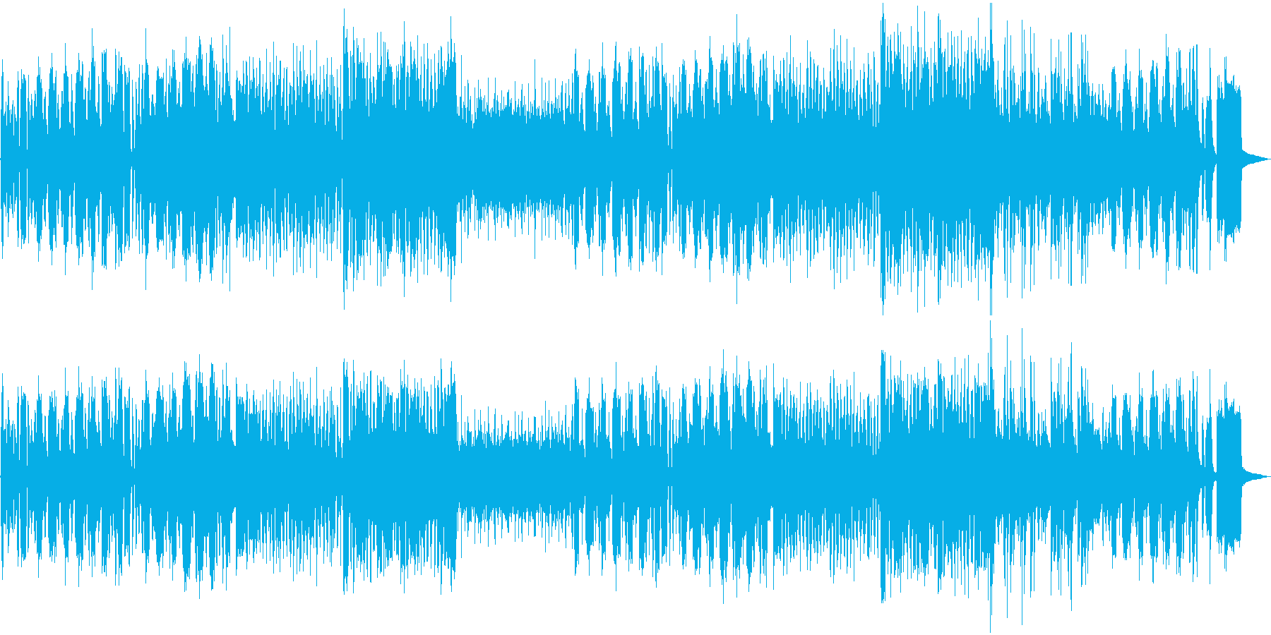 ほのぼの 日常 アコーディオン 映像用の再生済みの波形