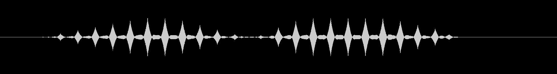 ブブ1【選択不可、使用不可、エラー】の未再生の波形