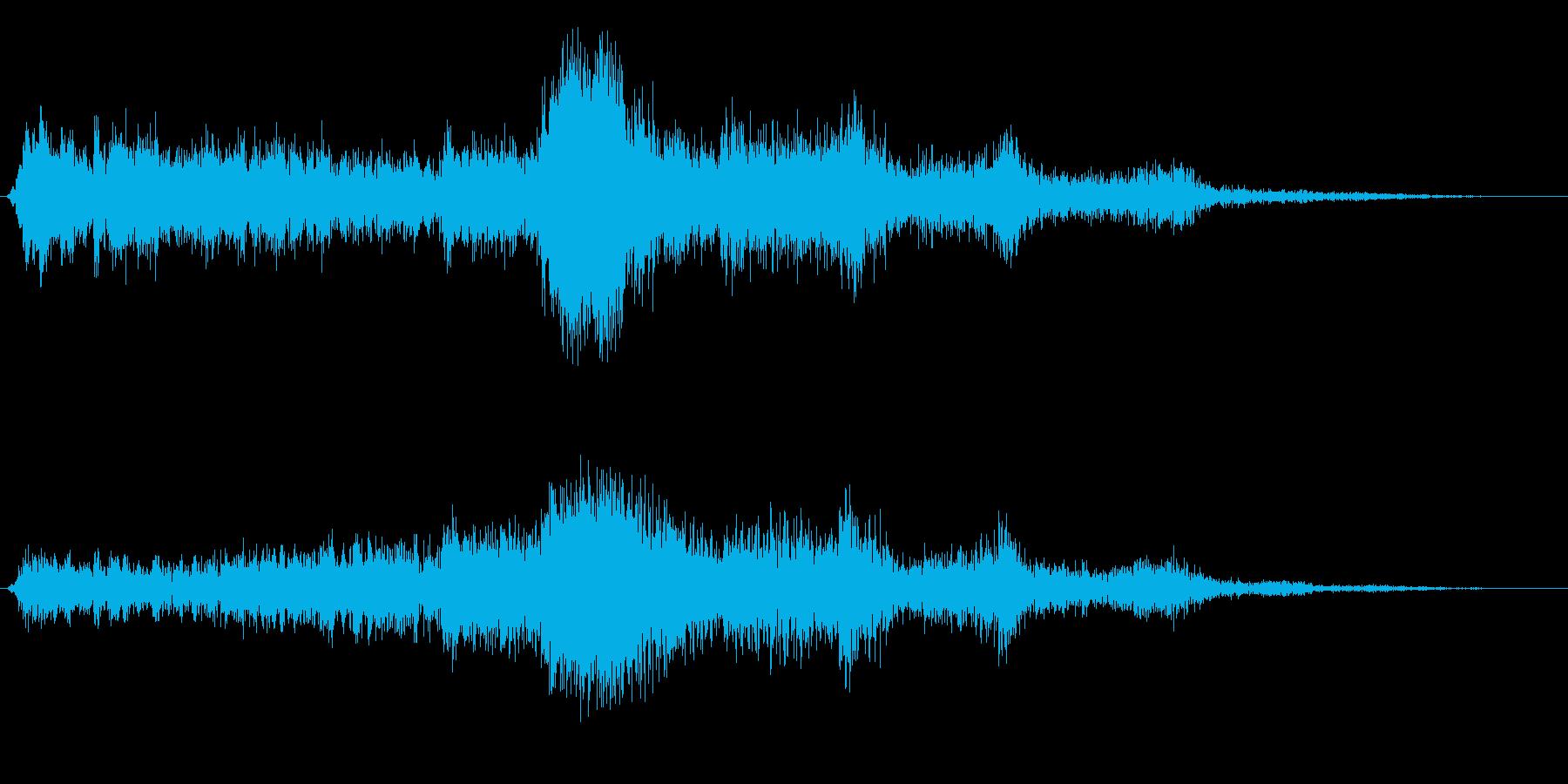キュルルル (マシンの作動音)の再生済みの波形