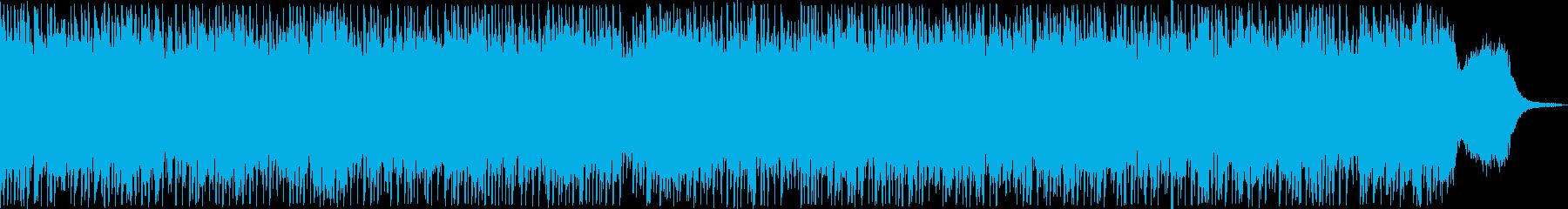 川のせせらぎ、大自然を感じられる曲の再生済みの波形