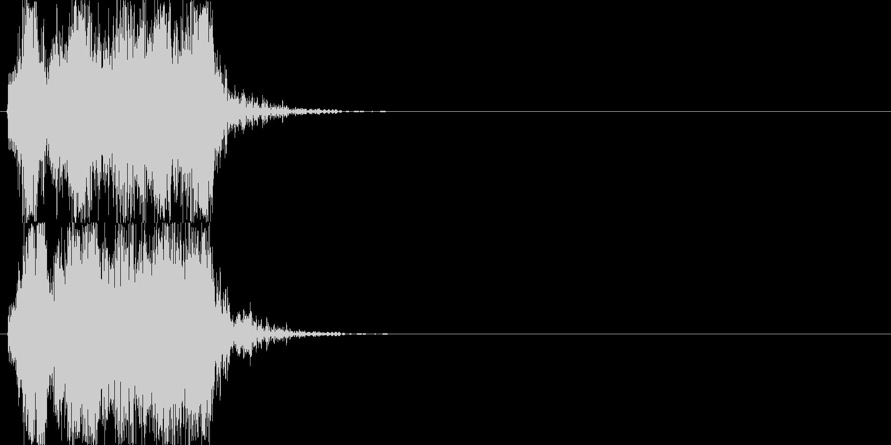 機械音02_シンセの未再生の波形