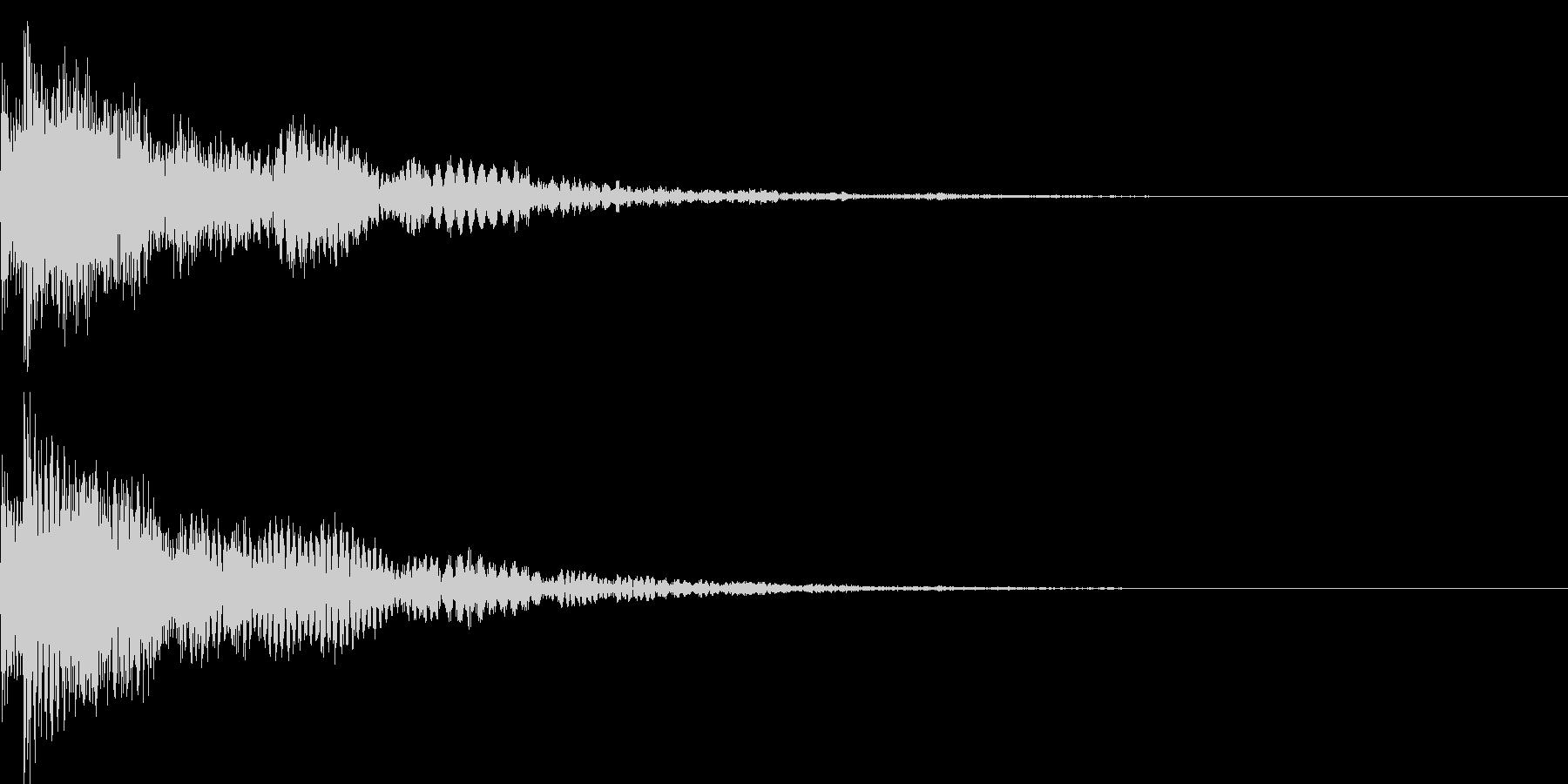 決定音44_シンセBの未再生の波形