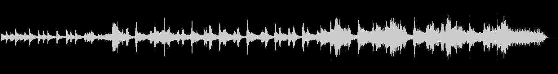 和風琴春ポップ横ノリ可愛いオルガンの未再生の波形