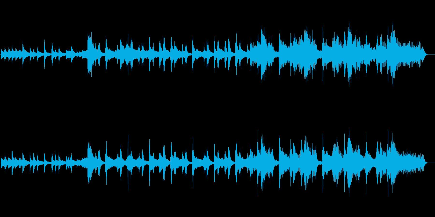 和風琴春ポップ横ノリ可愛いオルガンの再生済みの波形