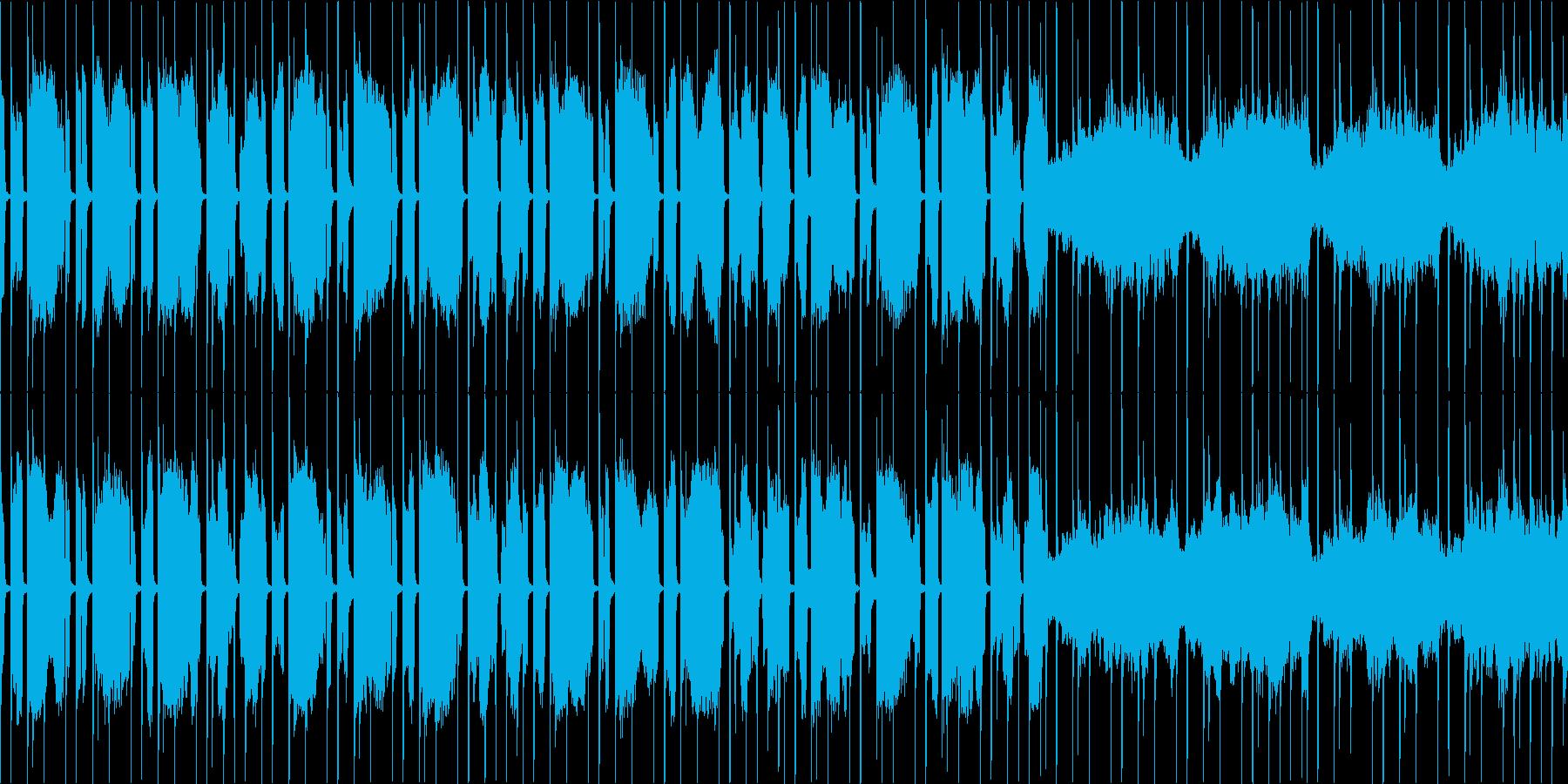 スラム街のテーマ ループの再生済みの波形