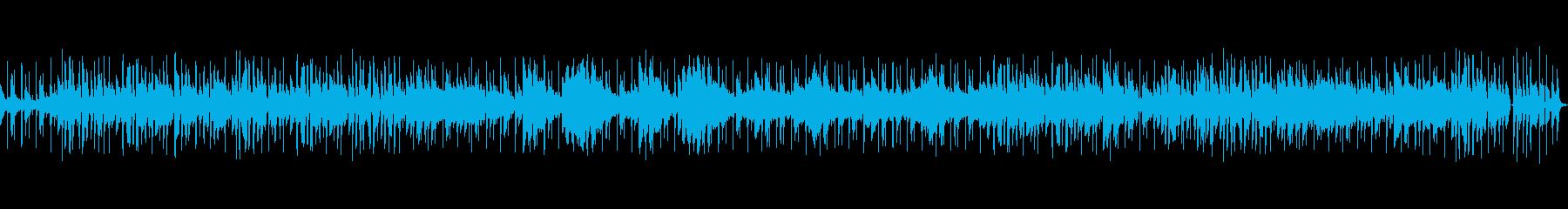 オープニング・CM・商品紹介などにの再生済みの波形