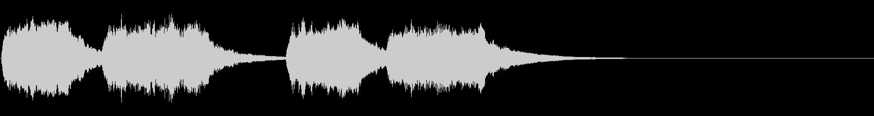 トッカータとフーガ(悲しい時のBGM)の未再生の波形