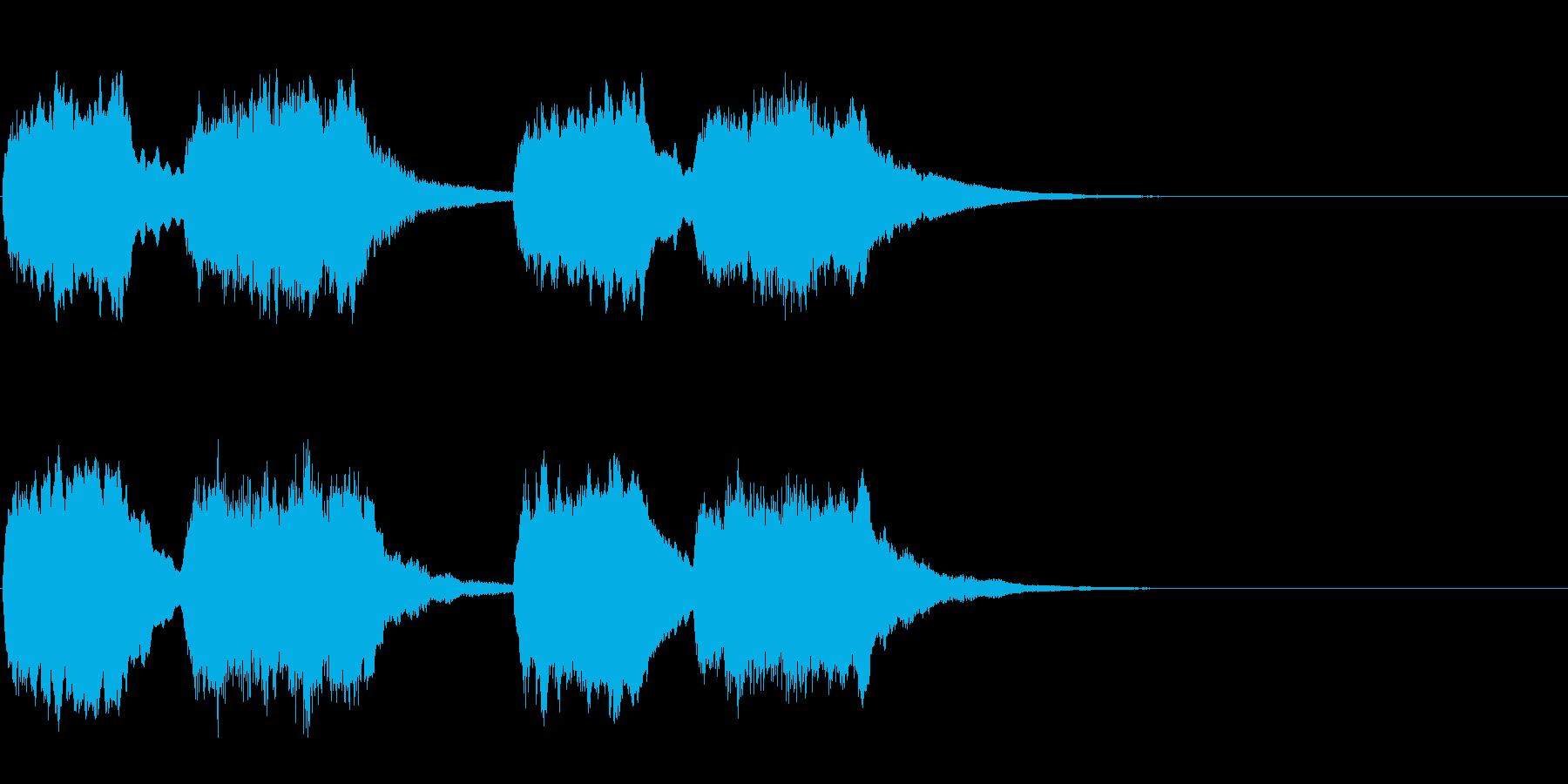トッカータとフーガ(悲しい時のBGM)の再生済みの波形