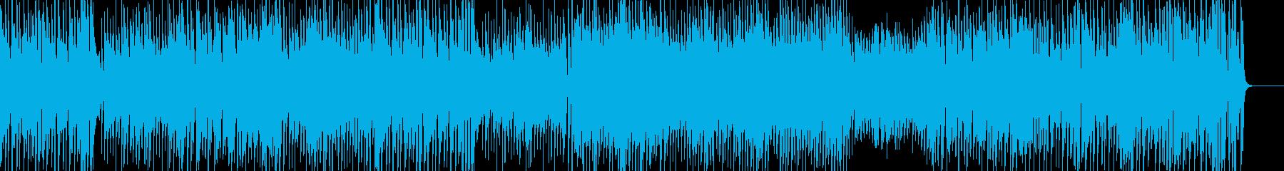 カジノを思わせるビッグバンドBGMの再生済みの波形