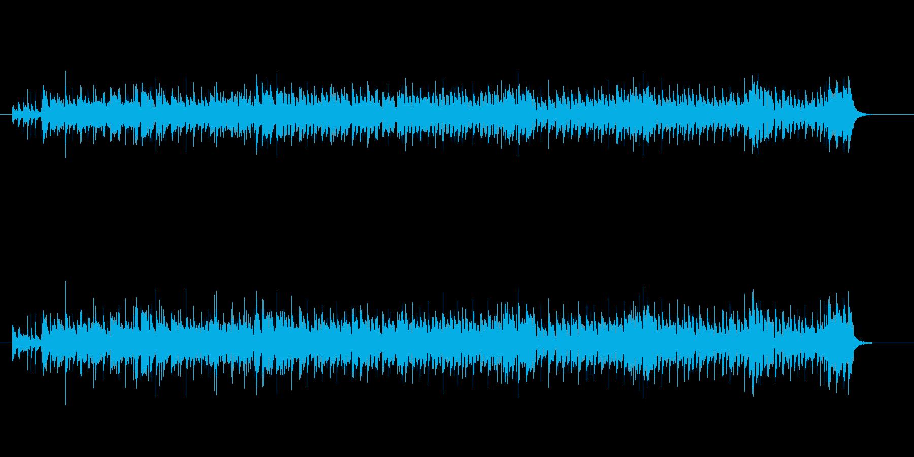 スピード感あふれるエレクトリック・ロックの再生済みの波形