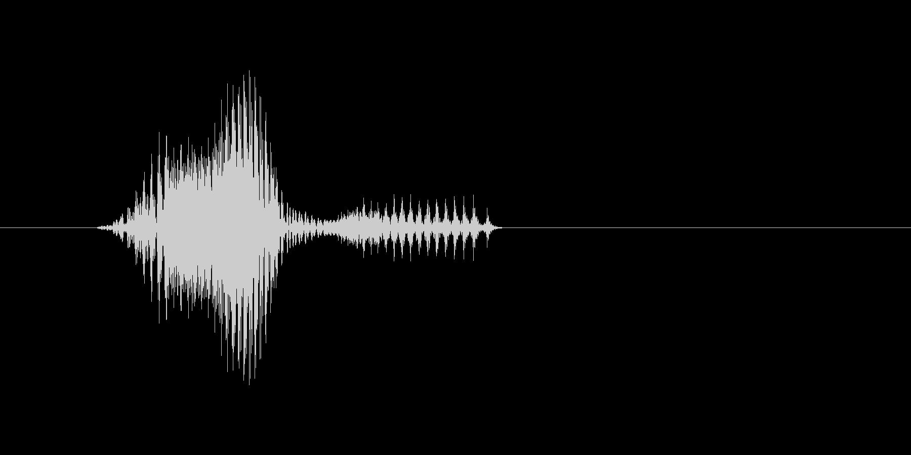 4時の未再生の波形