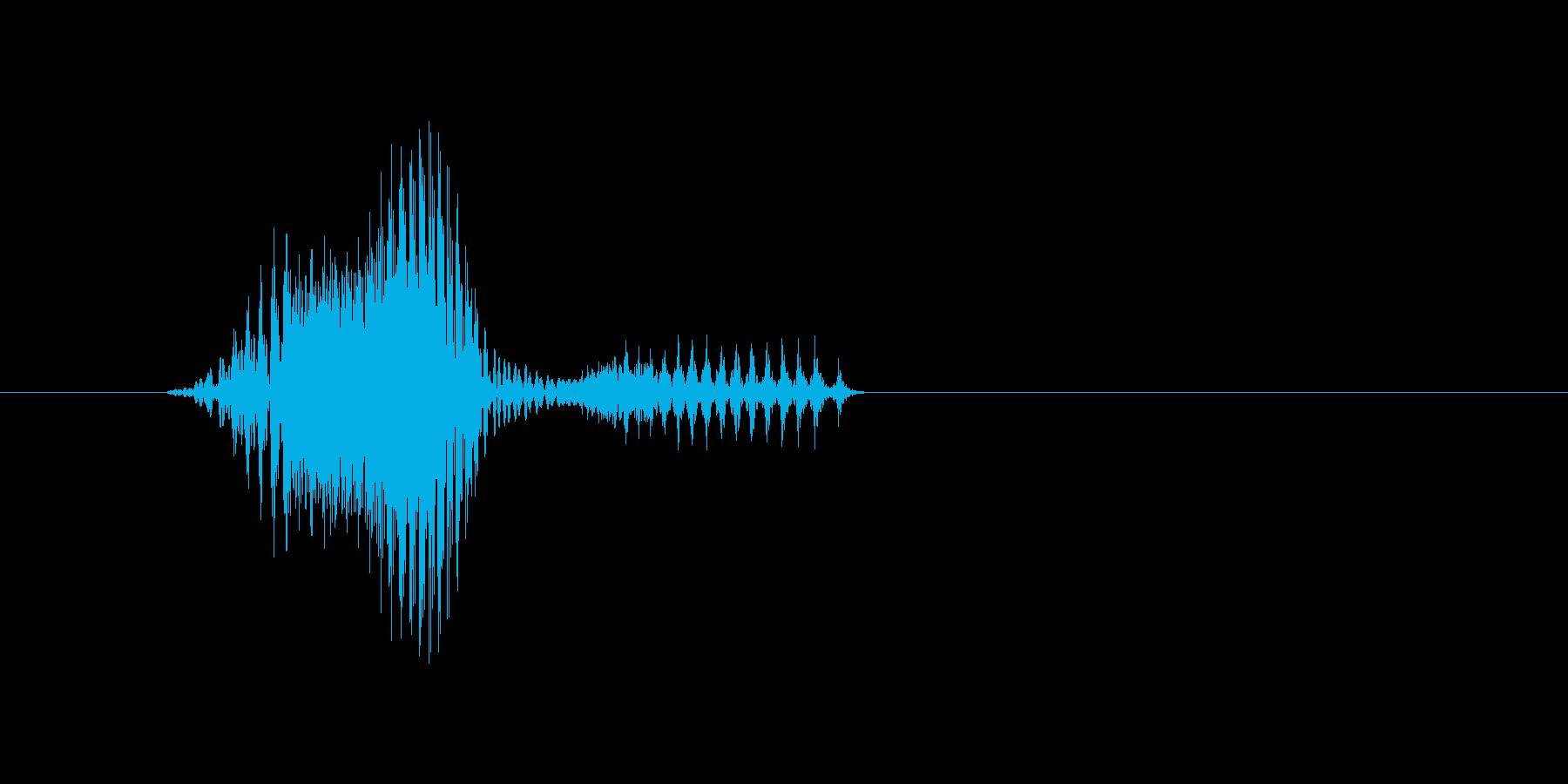 4時の再生済みの波形