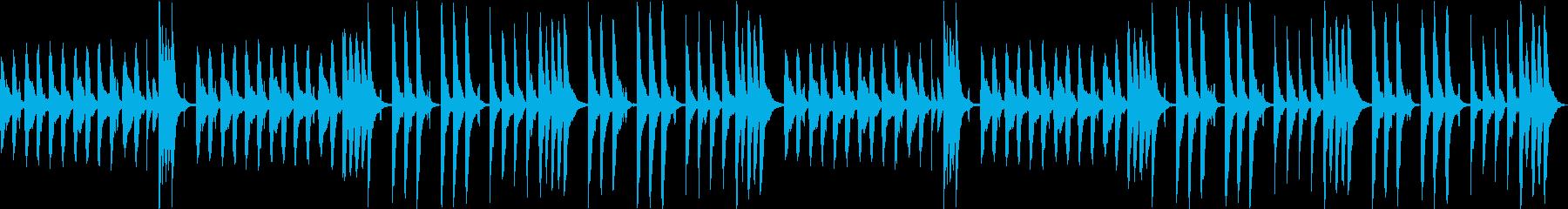 おとぼけ考え中&作業中BGM。ループ可♪の再生済みの波形
