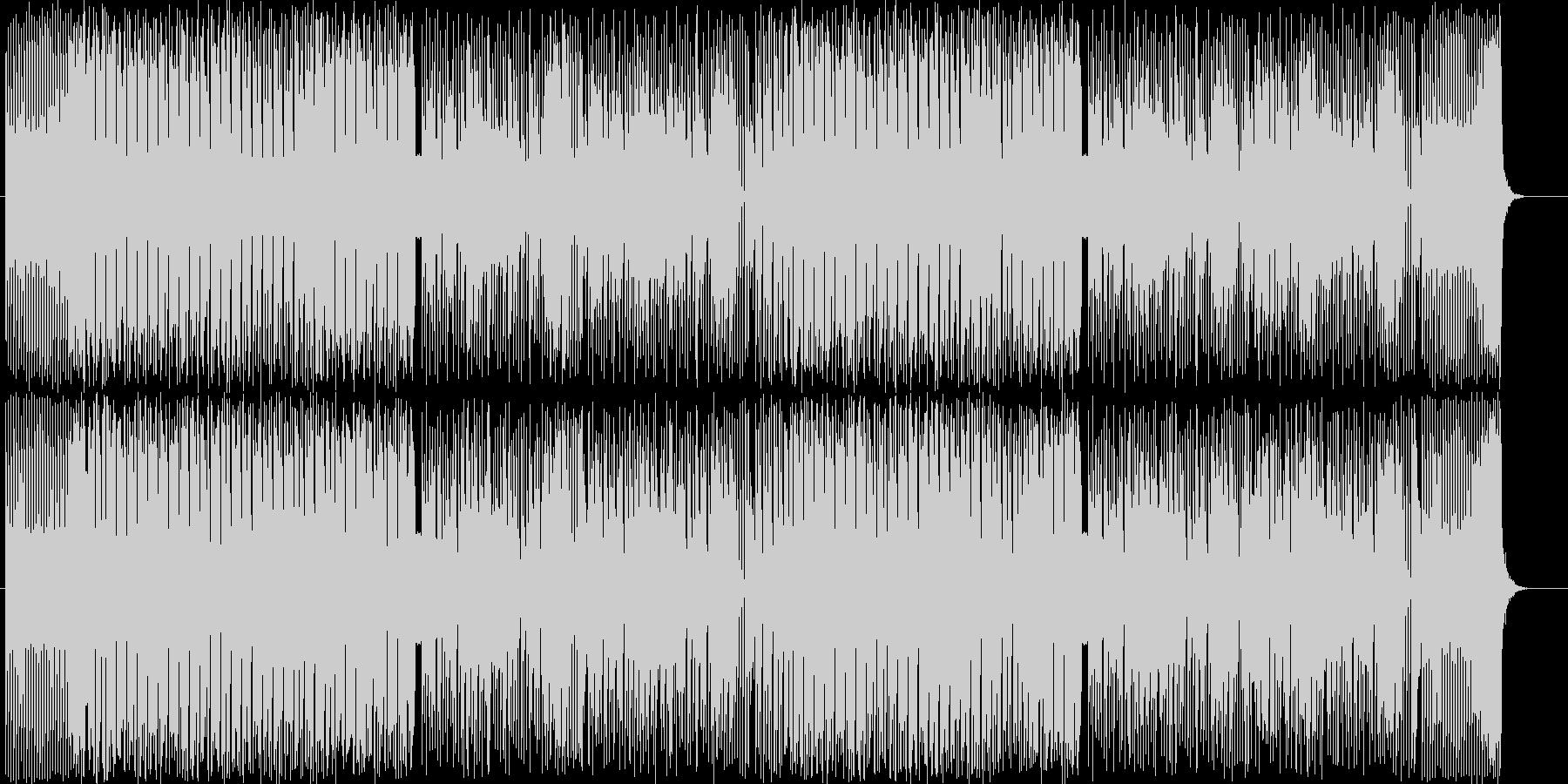 琴・三味線・尺八。個性的和風ヒップホップの未再生の波形