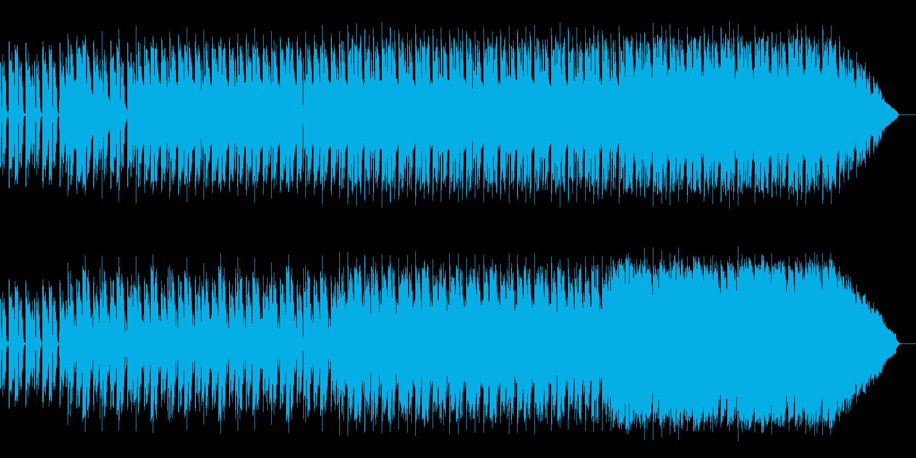 人の心の中の醜い声の再生済みの波形