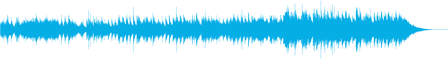 ピアノが優しいニューミュージックバラードの再生済みの波形