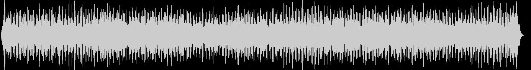 軽快でリズミカルなドラムが特徴のポップスの未再生の波形