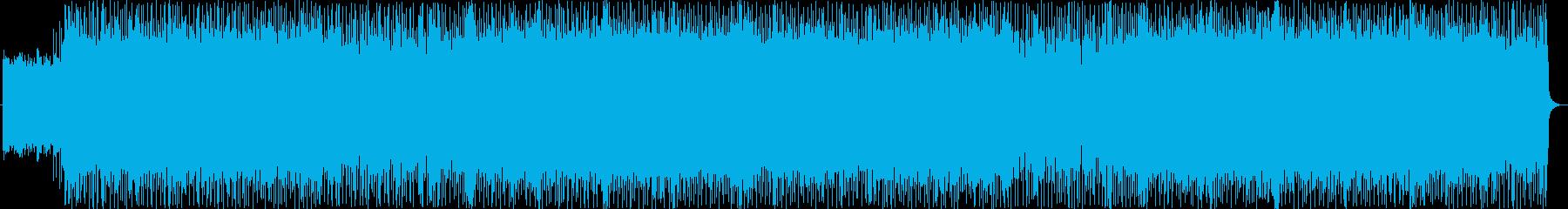 ゴシックな雰囲気のハードロックサウンドの再生済みの波形