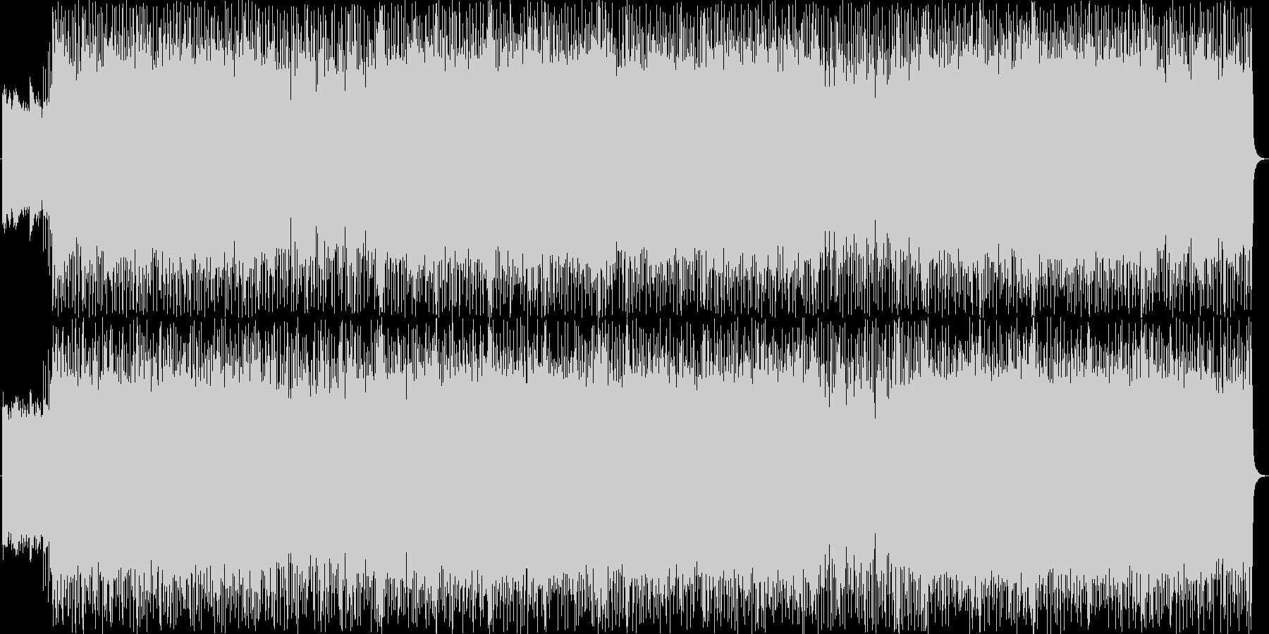 ゴシックな雰囲気のハードロックサウンドの未再生の波形
