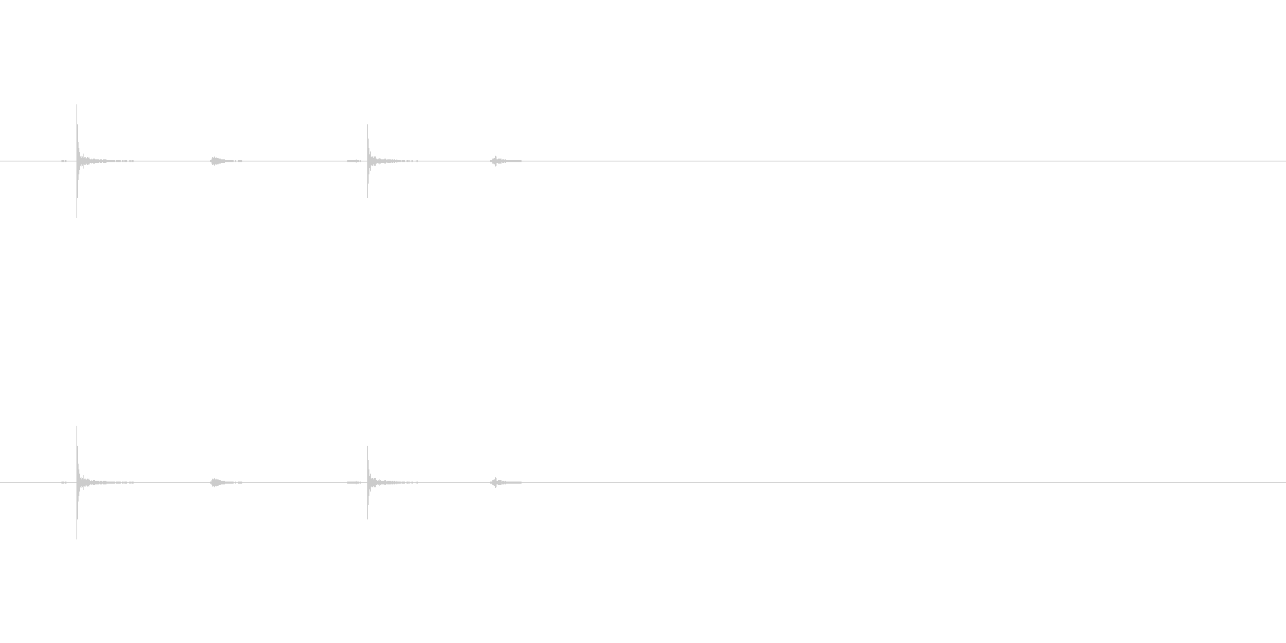 【ホッチキス01-3(カチカチ)】の未再生の波形