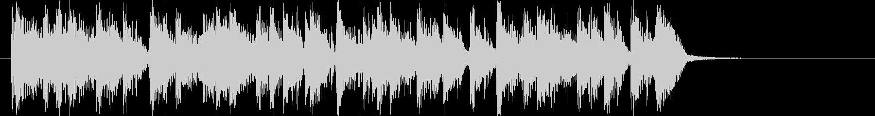 闘牛士風スパニッシュギターロゴの未再生の波形