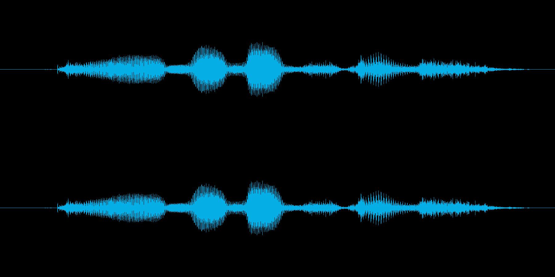 【時報・時間】17時です (なな)の再生済みの波形