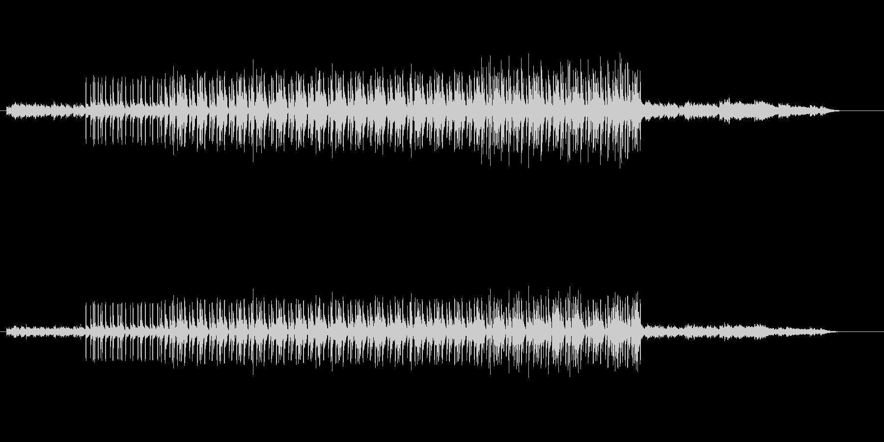 テクノ・ハウス系の曲の未再生の波形
