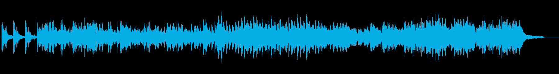 優雅で可憐でクラシカルなピアノ曲の再生済みの波形