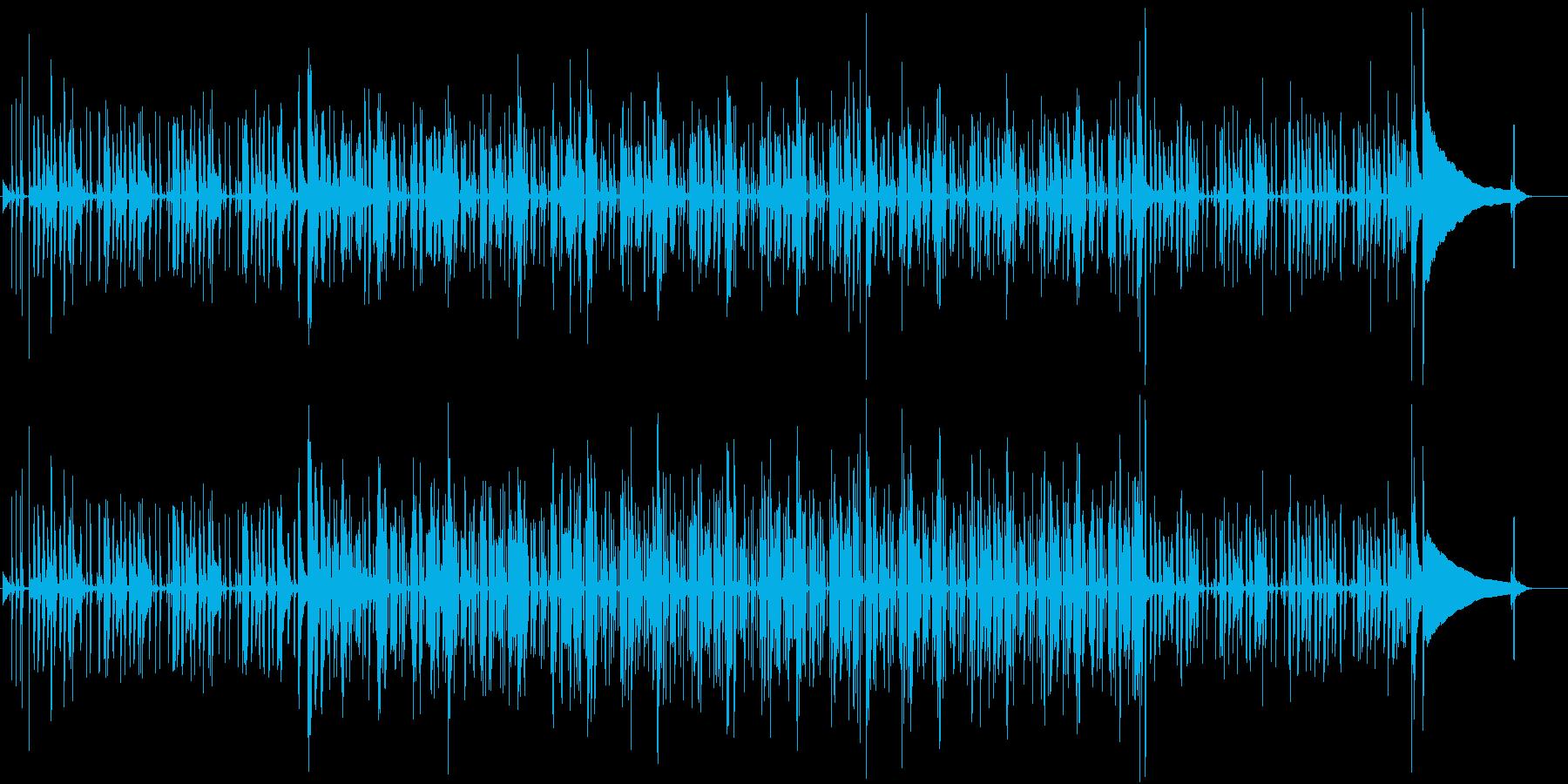 ファンクサウンド。高揚感のある楽曲。の再生済みの波形