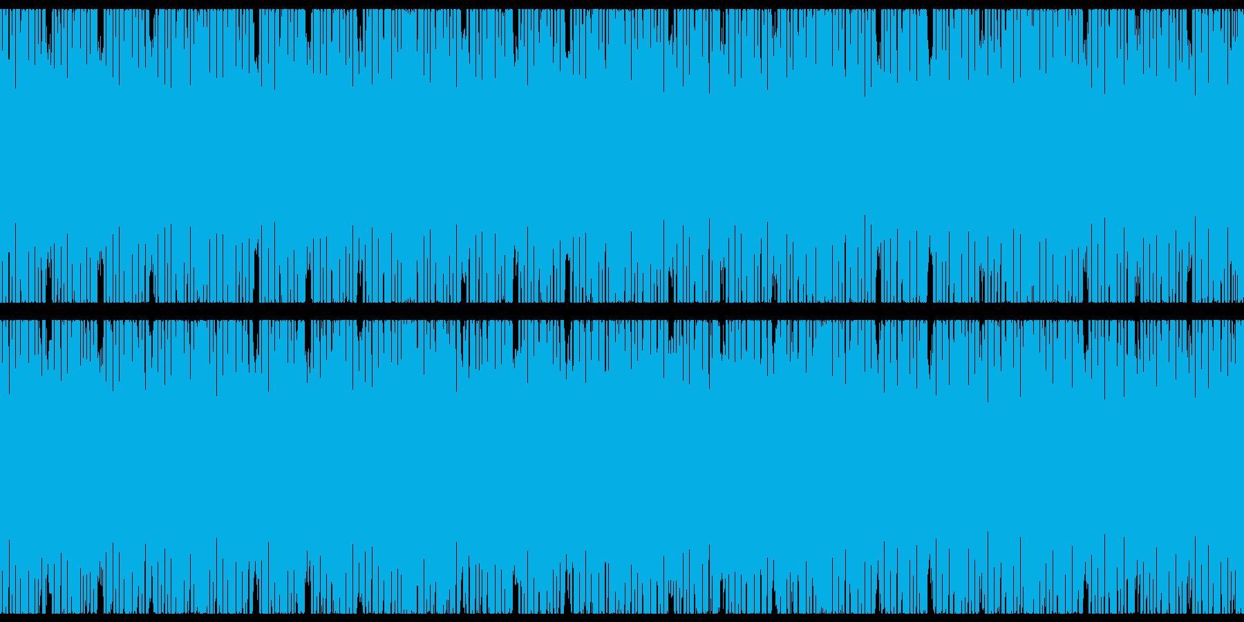ピコピコキラキラテクノポップの再生済みの波形