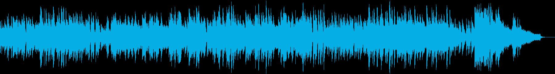 生ピアノ ジャズの再生済みの波形