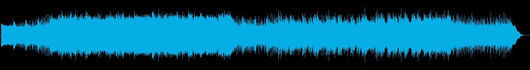 和やかで落ち着く安らぎの音楽の再生済みの波形