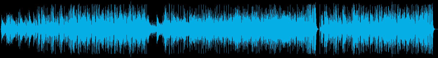 夜景に合いそうなフュージョンの再生済みの波形