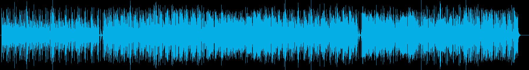 メローで落ち着きのあるお洒落でポップな曲の再生済みの波形