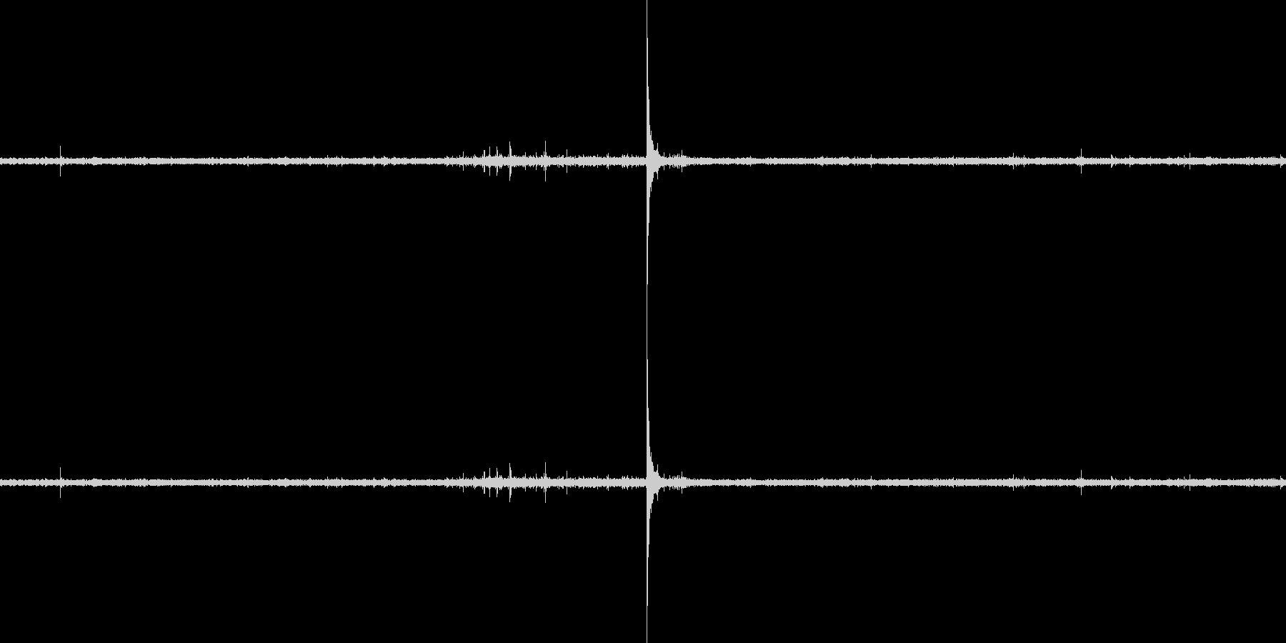 ししおどしの音の未再生の波形