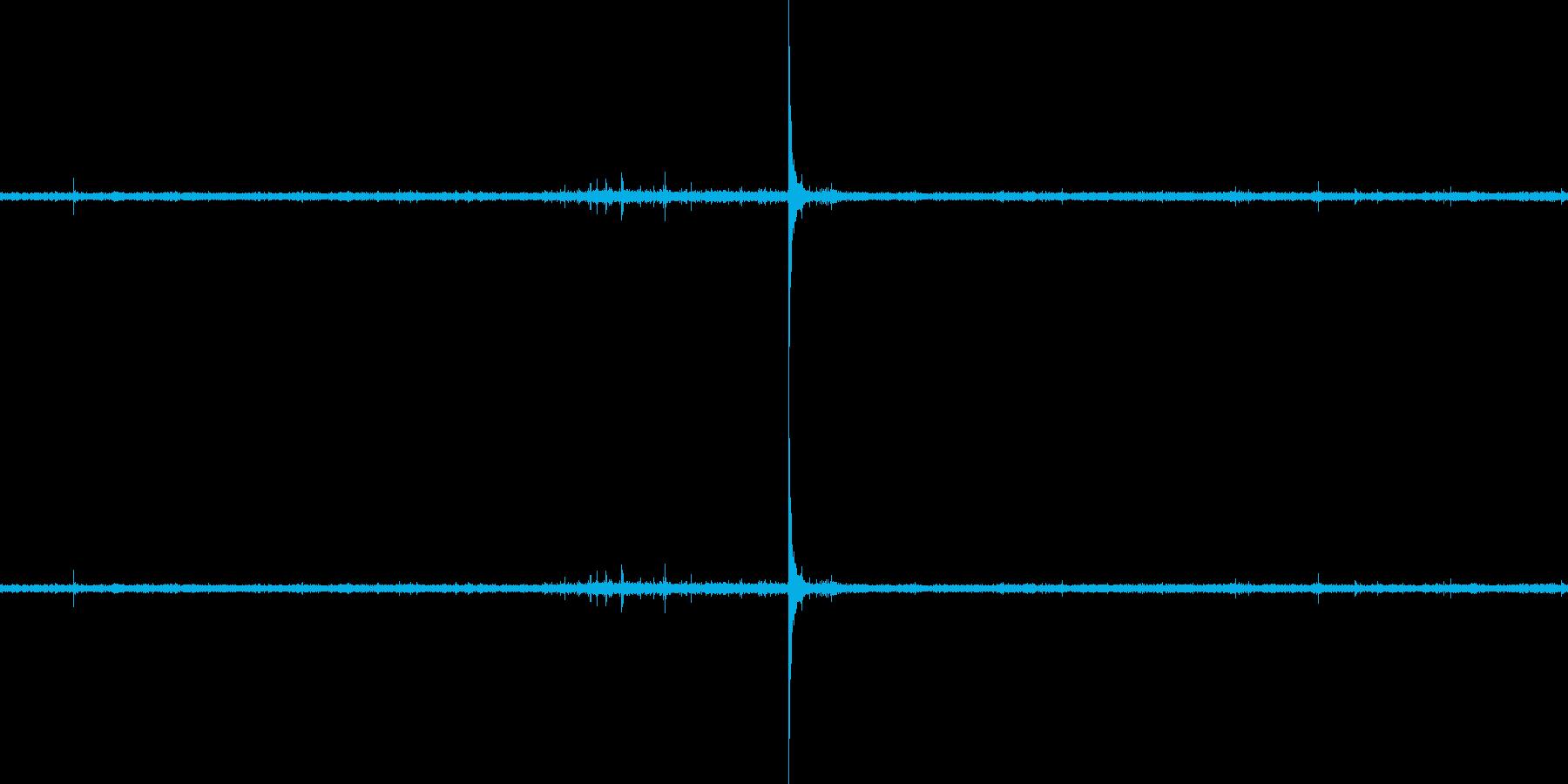 ししおどしの音の再生済みの波形