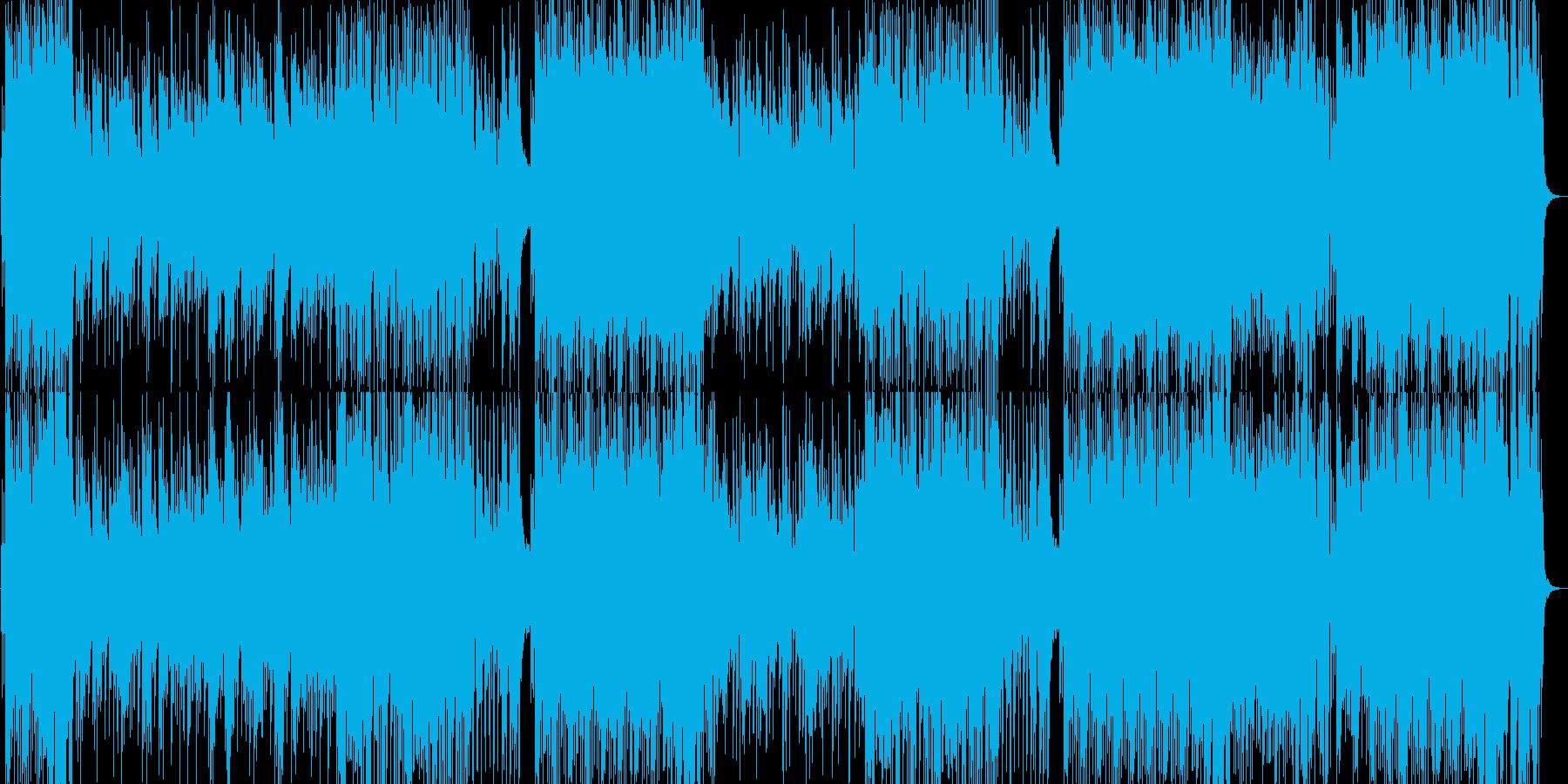 オープニング企業VP和風BGM入場桜春の再生済みの波形