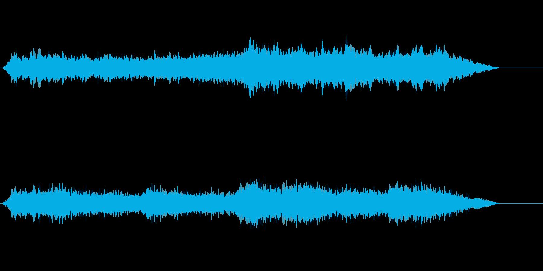 テクノロジー、ミステリアス、技術紹介、①の再生済みの波形