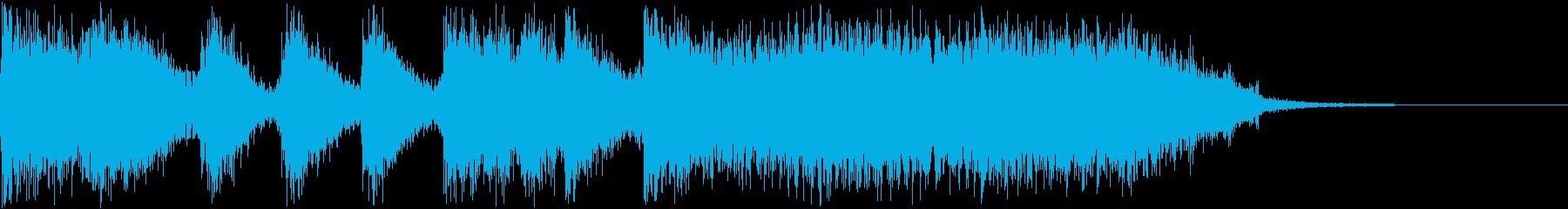 豪快なブラス!(5秒)ver2の再生済みの波形