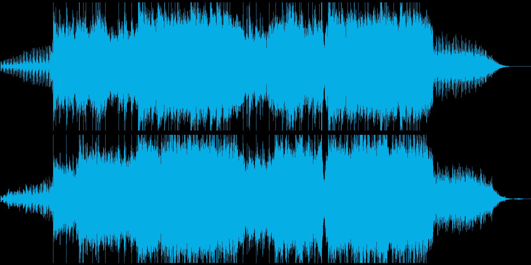 古都の中国を彷彿させる曲(WAV版)の再生済みの波形