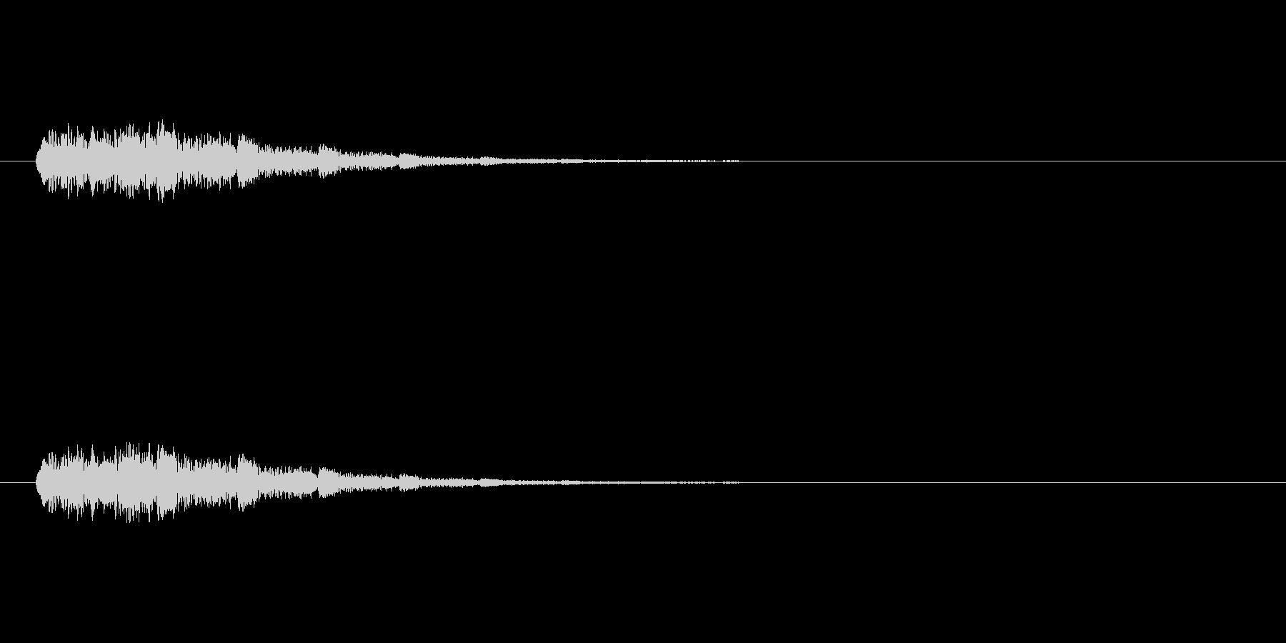 【ショートブリッジ24-2】の未再生の波形