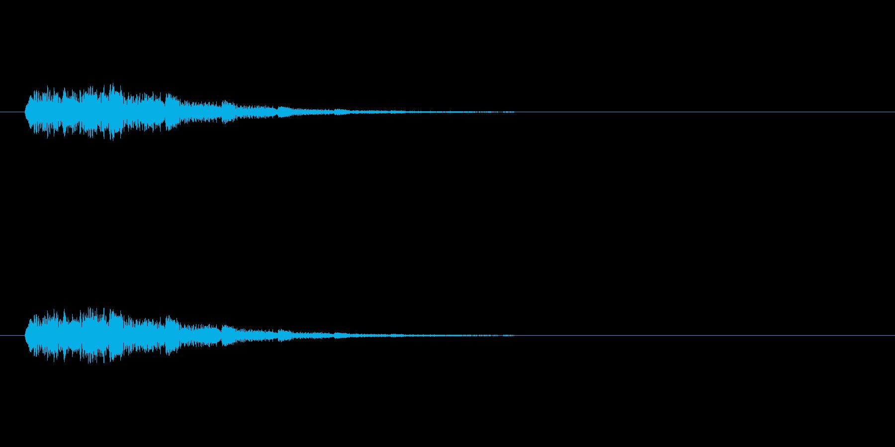 【ショートブリッジ24-2】の再生済みの波形