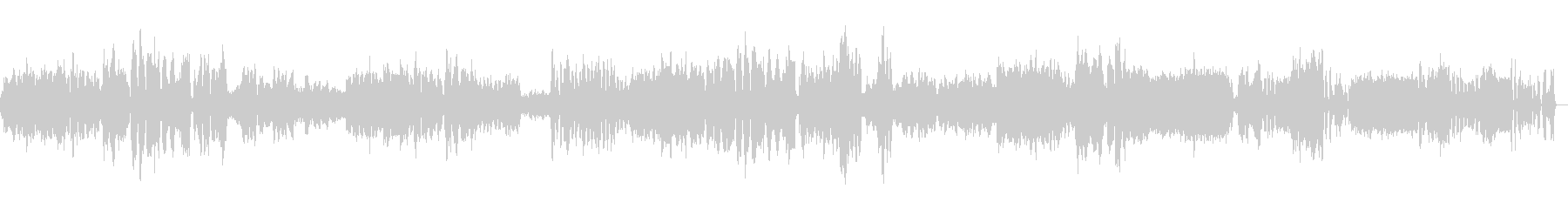 ベートーベン弦楽四重奏第15番第5楽章の未再生の波形