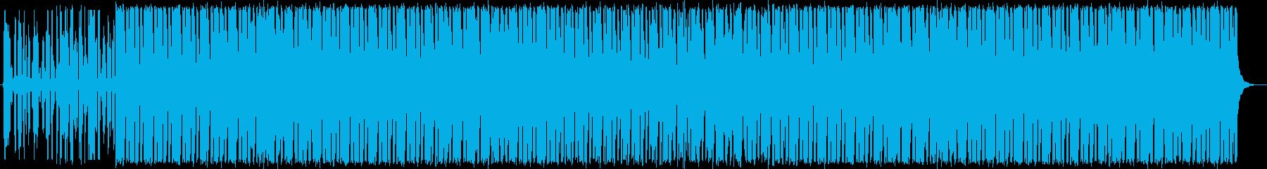 ノスタルジックで寂寥感のあるBGMの再生済みの波形