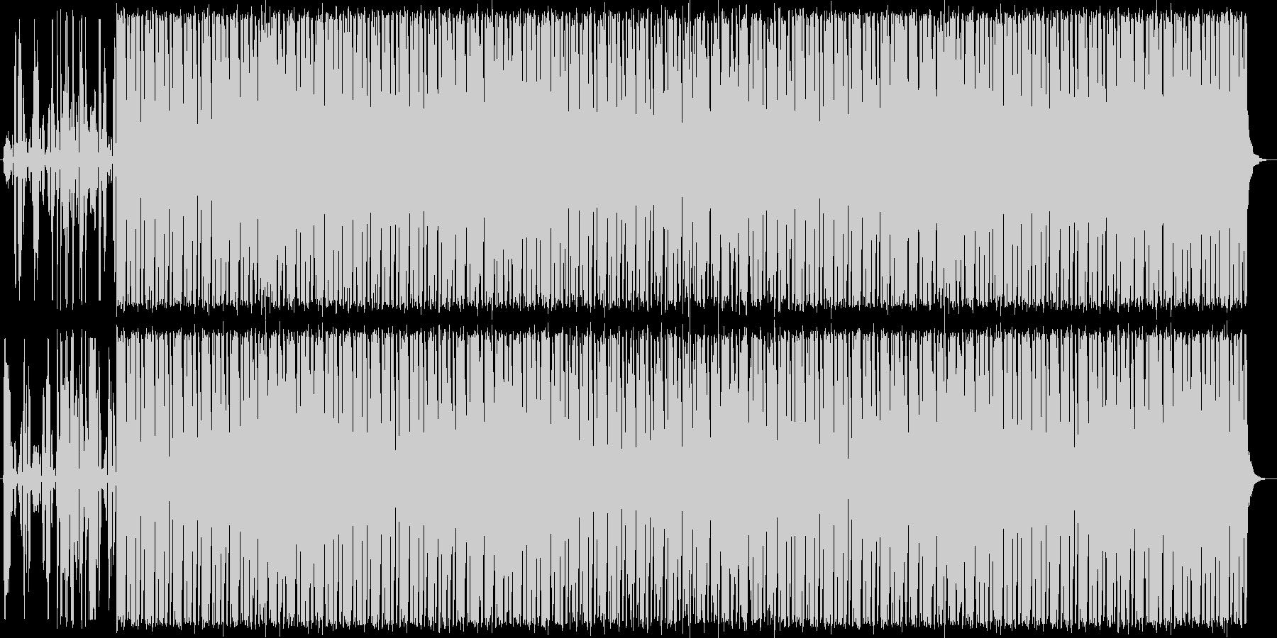 ノスタルジックで寂寥感のあるBGMの未再生の波形
