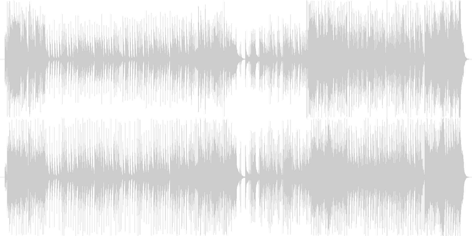 大きな栗の木の下で 【沖縄風アレンジ】の未再生の波形